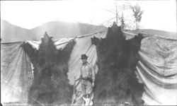 Austin Cook, Grizzly Bear Hunting, Blue River, BC Canada - Historical